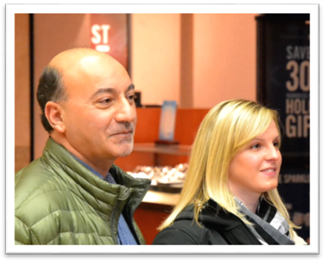 """Rep. Les Gara (D-Anchorage) and Amanda Metivier are both former foster youth and they are helping to coordinate the """"Laptops for Foster Youth"""" holiday drive that begins on November 24"""