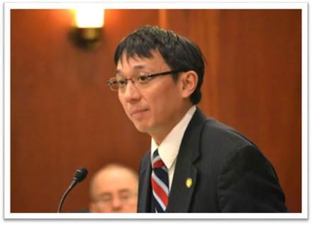 Rep. Scott Kawasaki (D-Fairbanks) speaking on the floor of the Alaska House of Representatives on March 31, 2015
