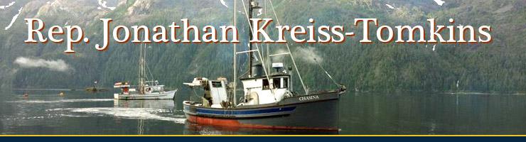 Representative Jonathan Kreiss-Tomkins