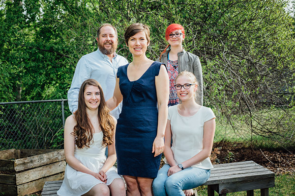 Rep. Spohnholz and her family