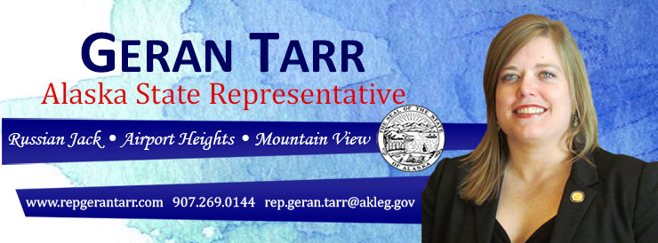 Representative Geran Tarr