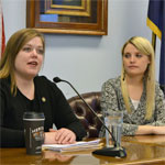 Rep. Tarr and Erin Merryn