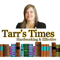 Rep. Tarr's Newsletter: Constituent Meetings & Public Testimony