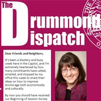 Rep. Drummond's Dispatch: Your Opportunity to Testify on the Operating Budget!