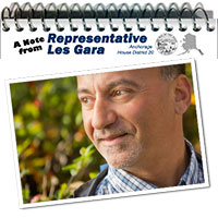 Rep. Gara Newsletter