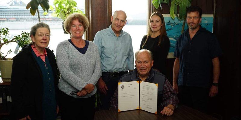 NEWS: Legislation Signed to Support Southeast Alaska's Dive Fisheries