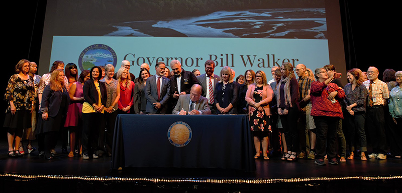 NEWS: Bill Signed to Modernize Alaska's Public School Trust Fund Using POMV Model