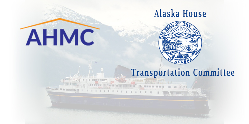 NEWS: House Transportation Committee Schedules Informational Meeting in Kodiak