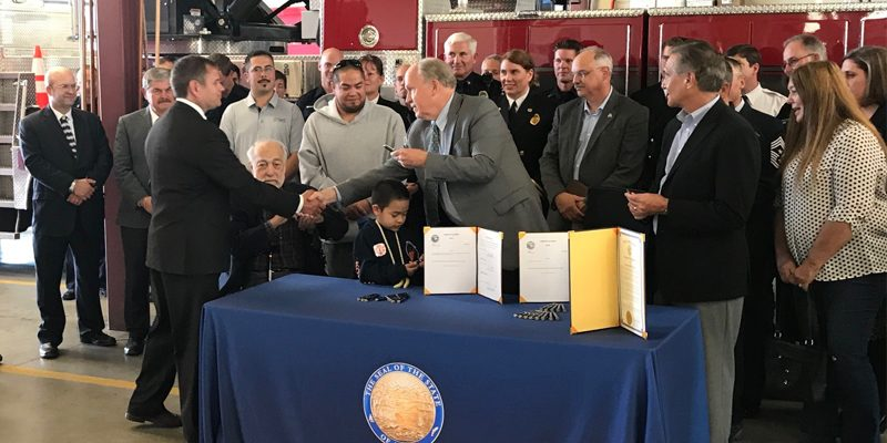 NEWS: Rep. Tuck Champions Increased Awareness of Post-Traumatic Stress Injuries