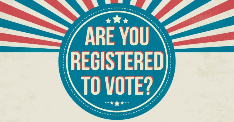 NEWS: Tomorrow is National Voter Registration Day