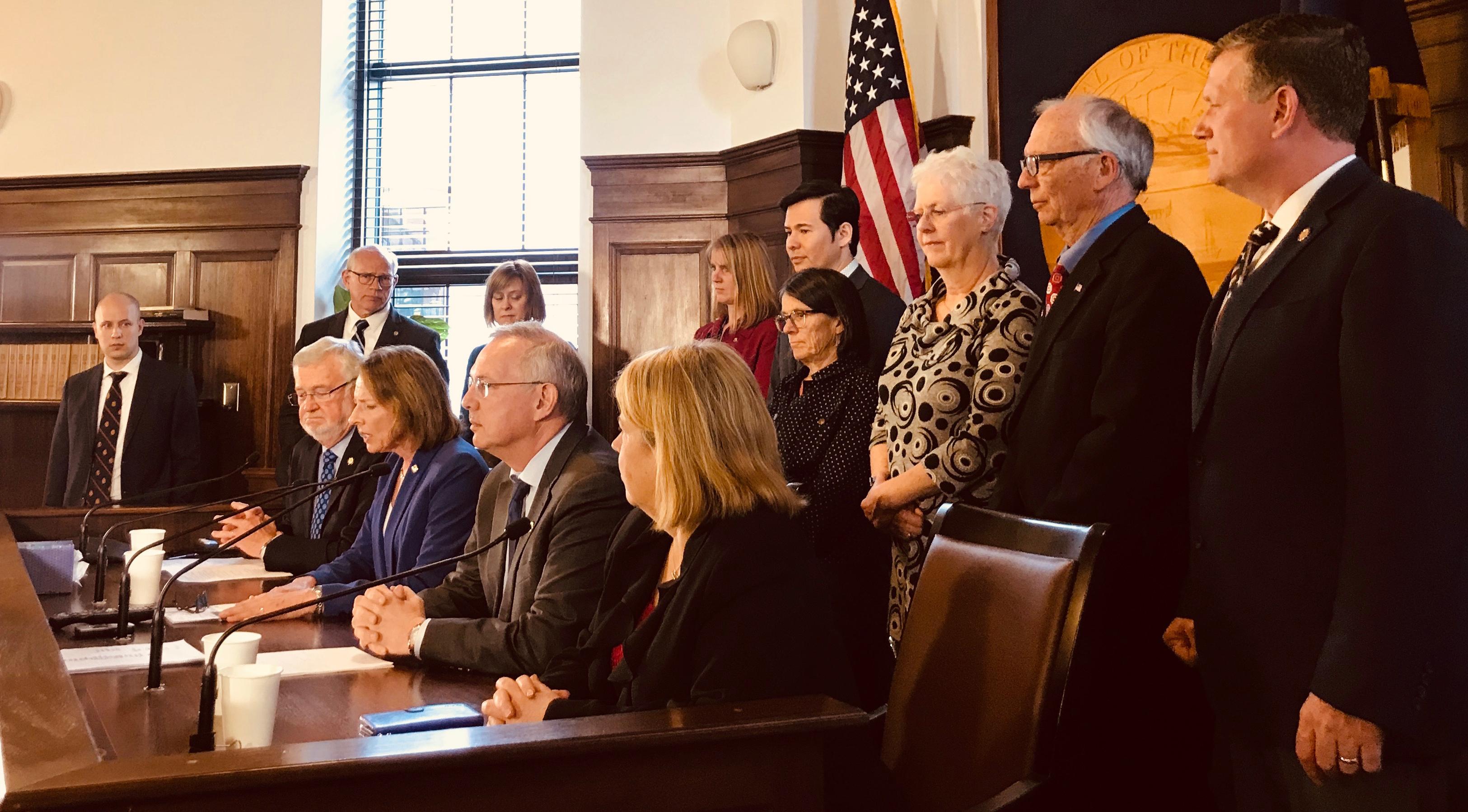 Legislature authorizes Legislative Council to defend education funding, prevent pink slips