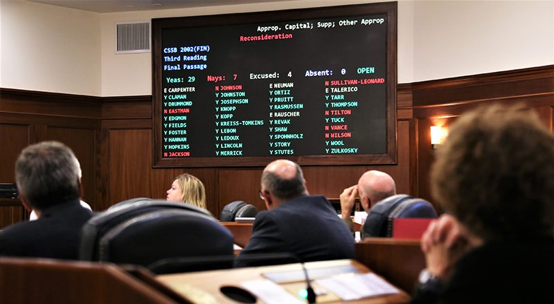 Bill funding capital budget falls one vote short, another vote planned