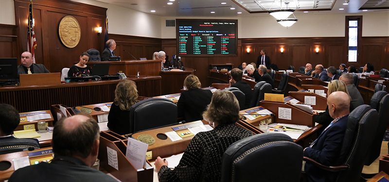 Legislature funds capital budget, restores university scholarships and other key programs