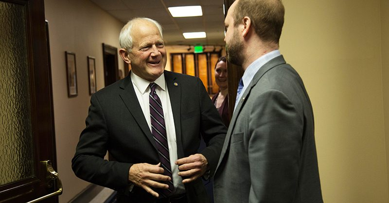 Lawmakers remember Sen. Chris Birch as a family man, statesman