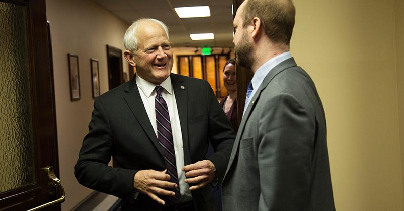 Lawmakers remember Sen. Chris Birch as a family man, statesman