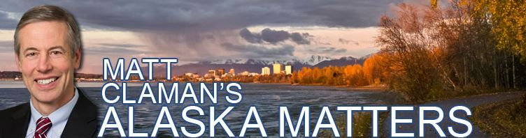 Rep. Matt Claman's Alaska Matters: End of Session Newsletter and COVID-19 Update