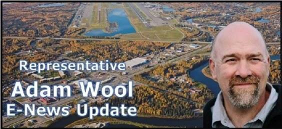 Rep. Adam Wool E-News Update: Town Hall Meeting at 4pm