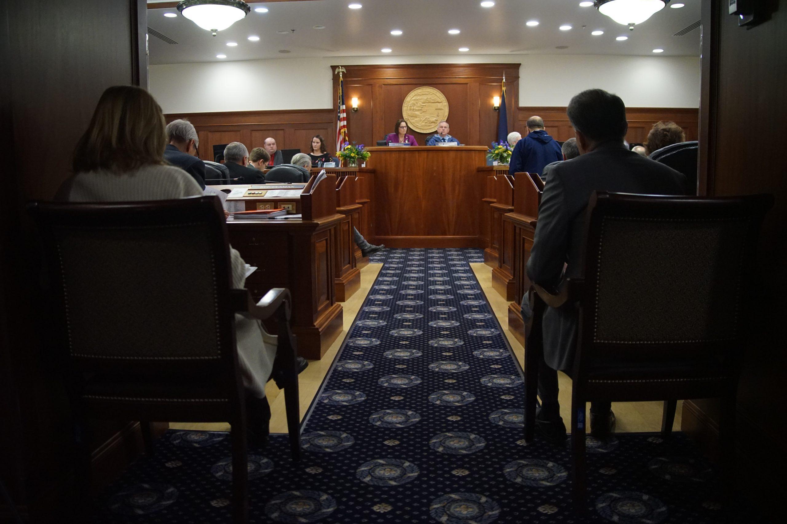 Majority of Alaska lawmakers vote to override governor's vetoes