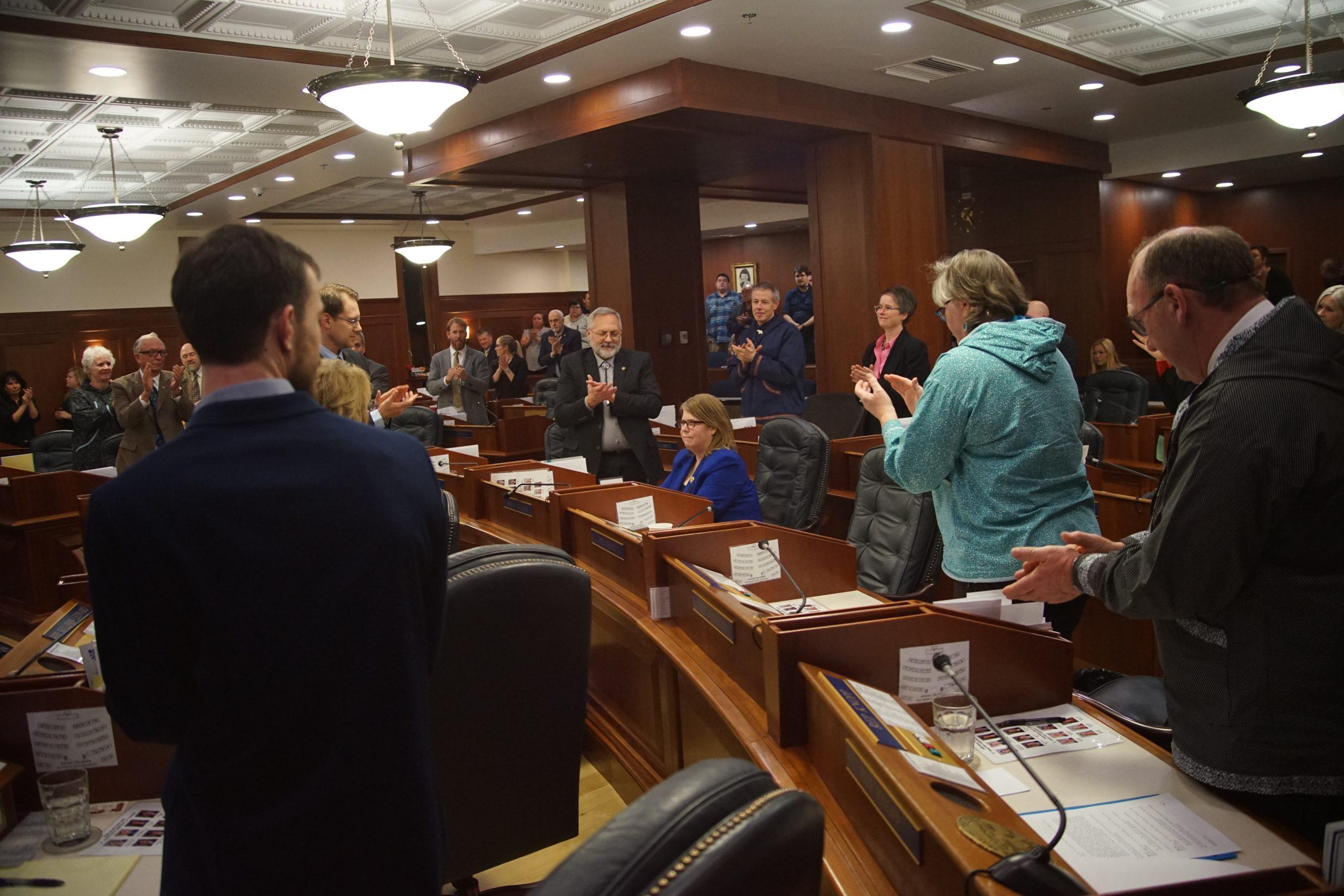 Speaker: Representative Wilson gave her all in the Legislature for more than a decade