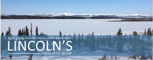Rep. John Lincoln's Legislative Recap