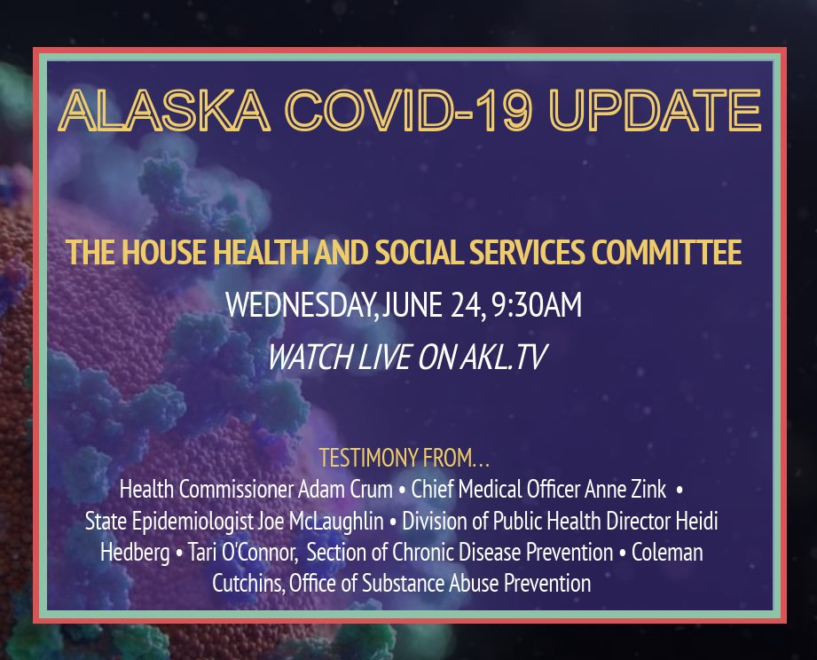 MEDIA ADVISORY: Public health experts to provide update on COVID-19 in Alaska