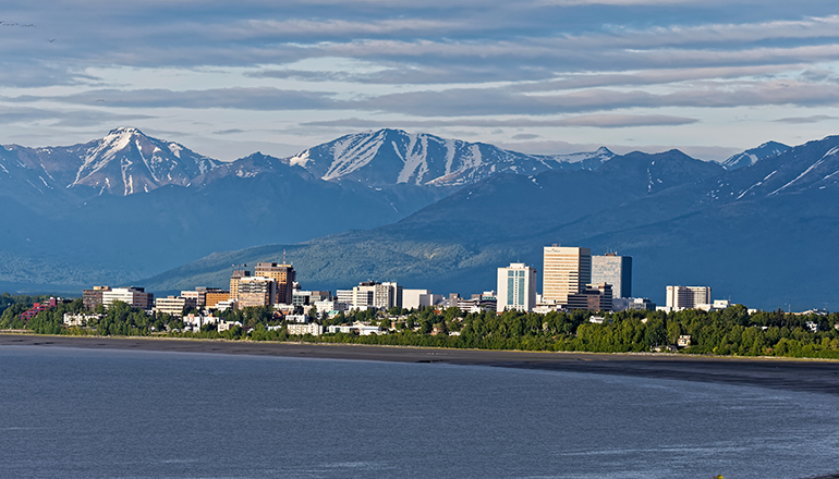 Anchorage city